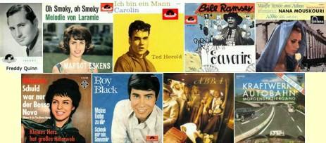 Bands der 50er, 60er und 70er